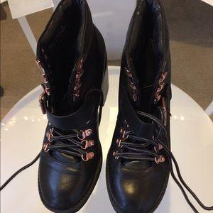 Topshop black boots